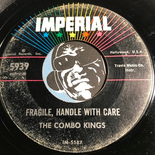 Combo Kings - Fragile Handle With Care b/w Teacher - Imperial #5939 - R&B Rocker
