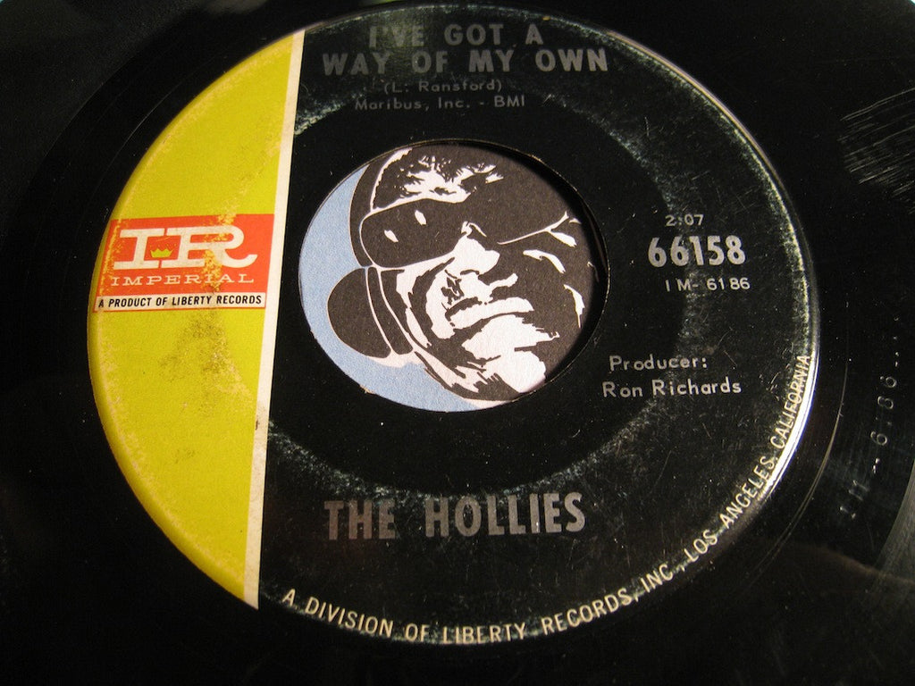 Hollies - I Can't Let Go b/w I've Got A Way Of My Own - Imperial #66158 - Rock n Roll