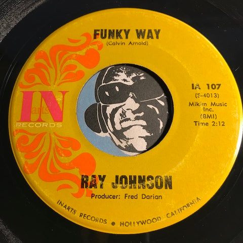 Ray Johnson - Funky Way b/w I Heard It Through The Grapevine - In #107 - Funk