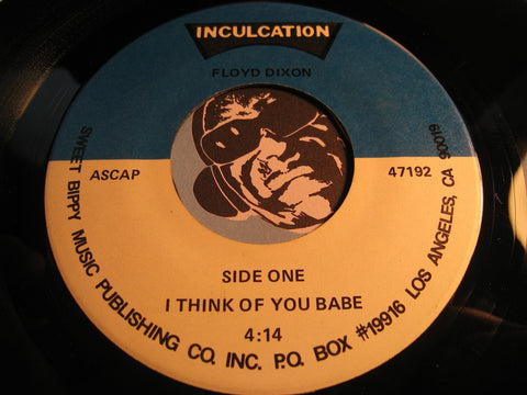 Floyd Dixon - I Think Of You Babe b/w Going Down Slow - Inculcation #47192 - Blues