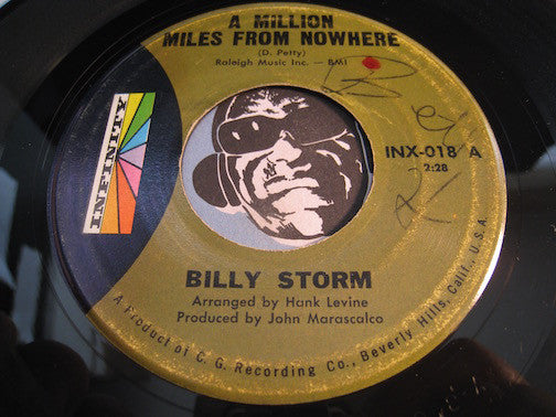 Billy Storm - A Million Miles From Nowhere b/w Since I Fell For You - Infinity #018 - Northern Soul