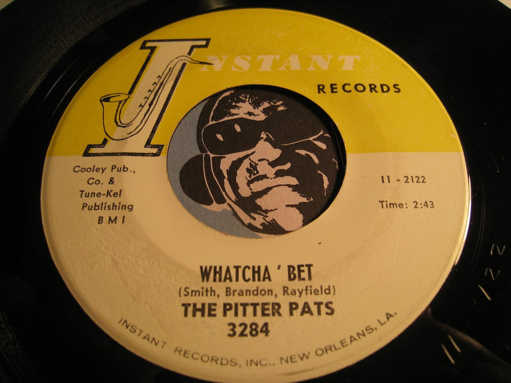 Pitter Pats - Watcha Bet b/w Baby You Hurt Me - Instant #3284 - R&B Soul