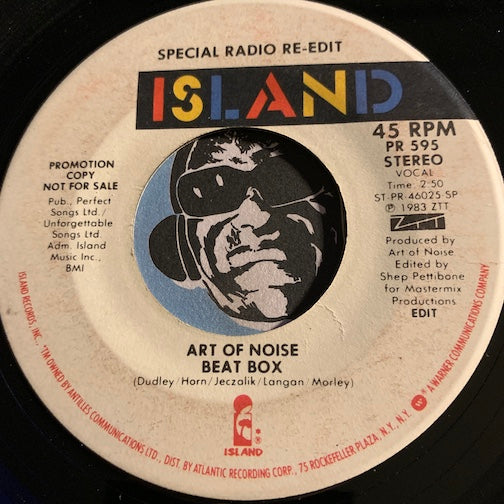 Art Of Noise - Beat Box b/w same - Island #595 - Rap