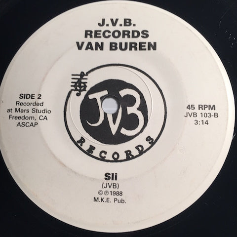 Van Buren - Send Out Your Love b/w Sli - J.V.B #103 - Modern Soul