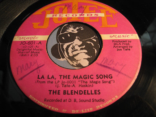 Blendelles - La La The Magic Song b/w In The Summer - Jotee #601 - Modern Soul