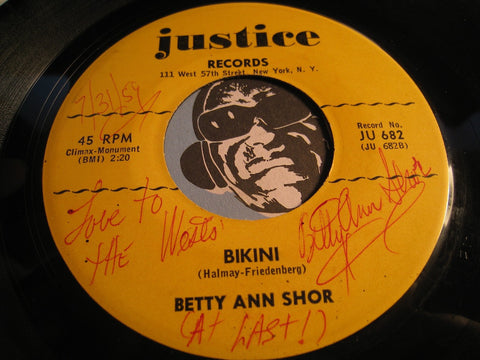 Betty Ann Shor - Bikini b/w It's Betty Ann Shor - Justice #682 - Teen