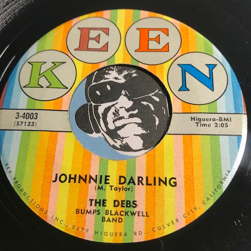 Debs - Johnnie Darling b/w Doom-A-Roca - Keen #4003 - Doowop - Girl Group