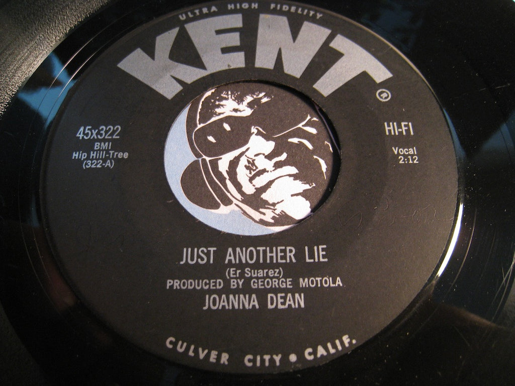 Joanna Dean - Just Another Lie b/w He's My Jim - Kent #322 - Teen