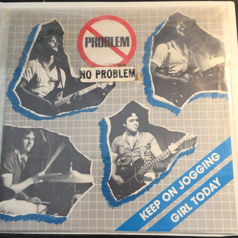 No Problem - Keep On Jogging b/w Girl Today - Khailli #1101 - Punk
