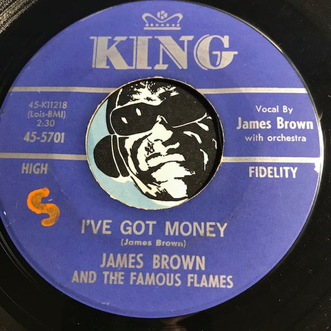 James Brown - I've Got Money b/w Three Hearts In A Triangle - King #5701 - Funk - R&B Soul