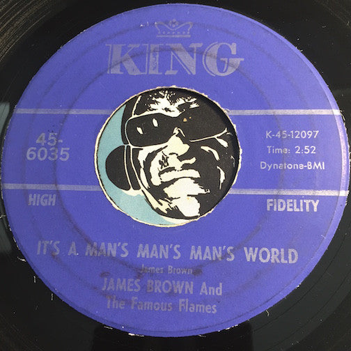 James Brown - It's A Man's Man's Man's World b/w Is It Yes Or Is It No - King #6035 - Funk - R&B Soul