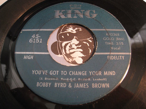 Bobby Byrd - You've Got To Change Your Mind b/w I'll Lose My Mind - King #6151 - R&B