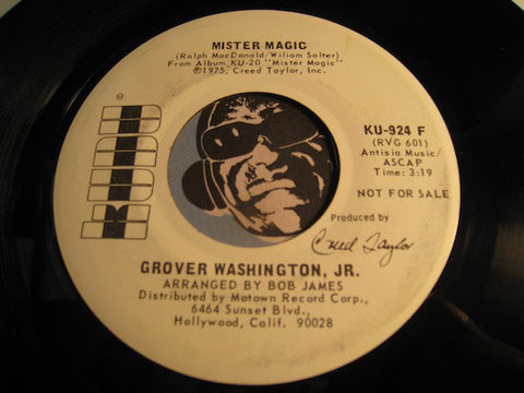 Grover Washington Jr - Mister Magic b/w same - Kudu #924 - Jazz Funk