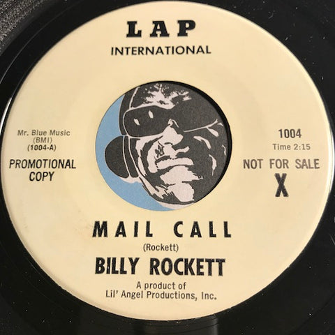 Billy Rockett - Mail Call b/w Parting Ways - Lap International #1004 - Country
