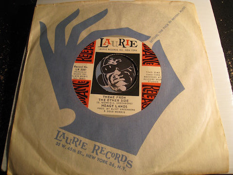 Hoagy Lands - Theme From The Other Side b/w September - Laurie #3361 - Northern Soul