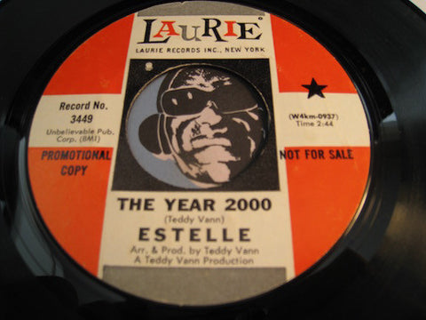Estelle - The Year 2000 b/w The Naked Boy - Laurie #3449 - Girl Group
