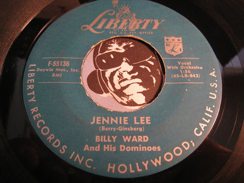 Billy Ward & Dominoes - Jennie Lee b/w Music Maestro Please! - Liberty #55136 - R&B Rocker