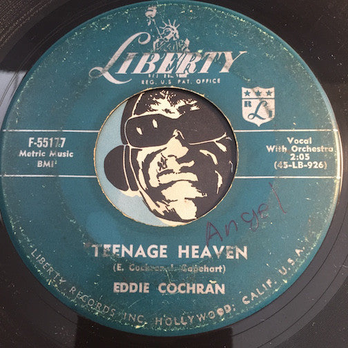 Eddie Cochran - Teenage Heaven b/w I Remember - Liberty #55177 - Rockabilly