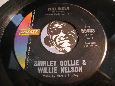 Shirley Collie & Willie Nelson