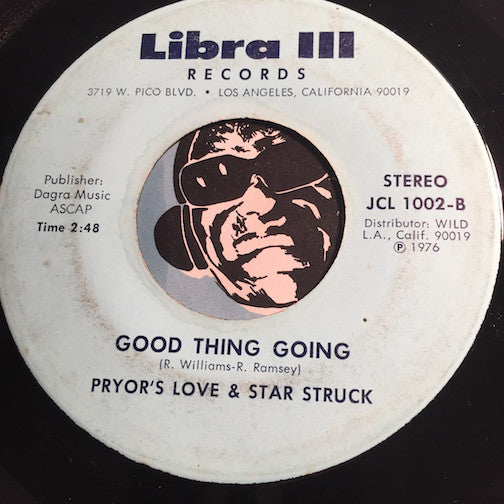 Pryors Love & Star Struck - People Listen b/w Good Thing Going - Libra III #1002 - Modern Soul