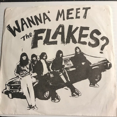 Flakes - Wanna Meet The Flakes? - Bad Girl b/w Hang Up - Lipstick #006 - Garage Rock - Rock n Roll - 80's / 90's / 2000's