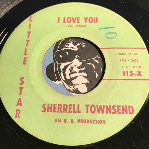 Sherrell Townsend - I Love You b/w Summer Days - Little Star #115 - Girl Group - Soul