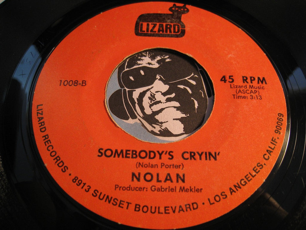 Nolan - I Like What You Give b/w Somebody's Cryin - Lizard #1008 - Modern Soul