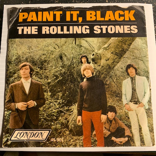 Rolling Stones - Paint It Black b/w Stupid Girl - London #901 - Rock n Roll