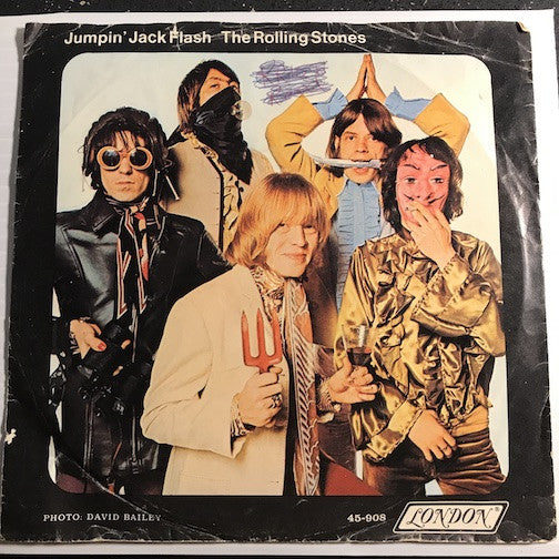 Rolling Stones - Jumpin Jack Flash b/w Child Of The Moon - London #908 - Rock n Roll