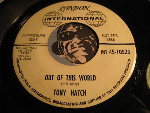 Tony Hatch - Out Of This World b/w Cyril's Tune - London International #10523 - Surf