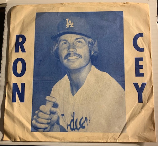 Ron Cey - Los Angeles Dodgers - Third Base Bag b/w One Game At A Time - Long Ball no # - Novelty