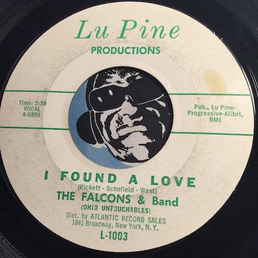 Falcons - I Found A Love b/w Swim - Lu Pine #1003 - R&B Soul