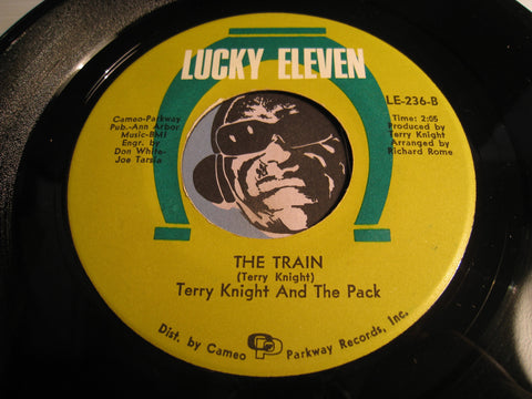 Terry Knight and the Pack - The Train b/w One Monkey Don't Stop No Show - Lucky Eleven #236 - Garage Rock