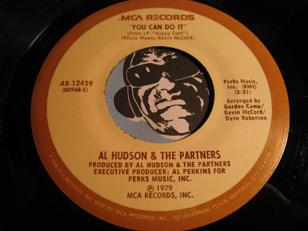 Al Hudson & Soul Partners - I Don't Want You to Leave Me b/w You Can Do It - MCA #12459 - Funk