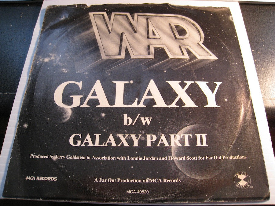 War - Galaxy pt.1 b/w pt.2 - MCA #40820 - Funk