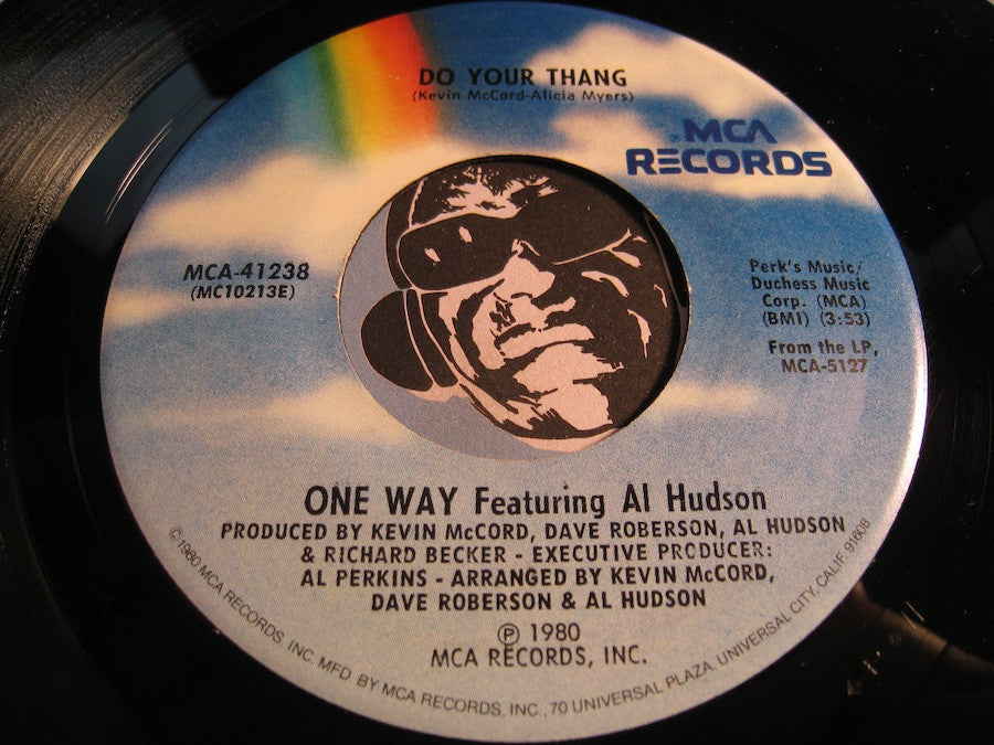 One Way featuring Al Hudson - Do Your Thang b/w Copy This - MCA #41238 - Funk