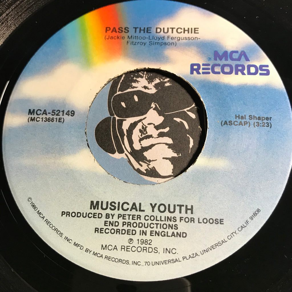 Musical Youth - Pass The Dutchie b/w Give Love A Chance - MCA #52149 - Reggae