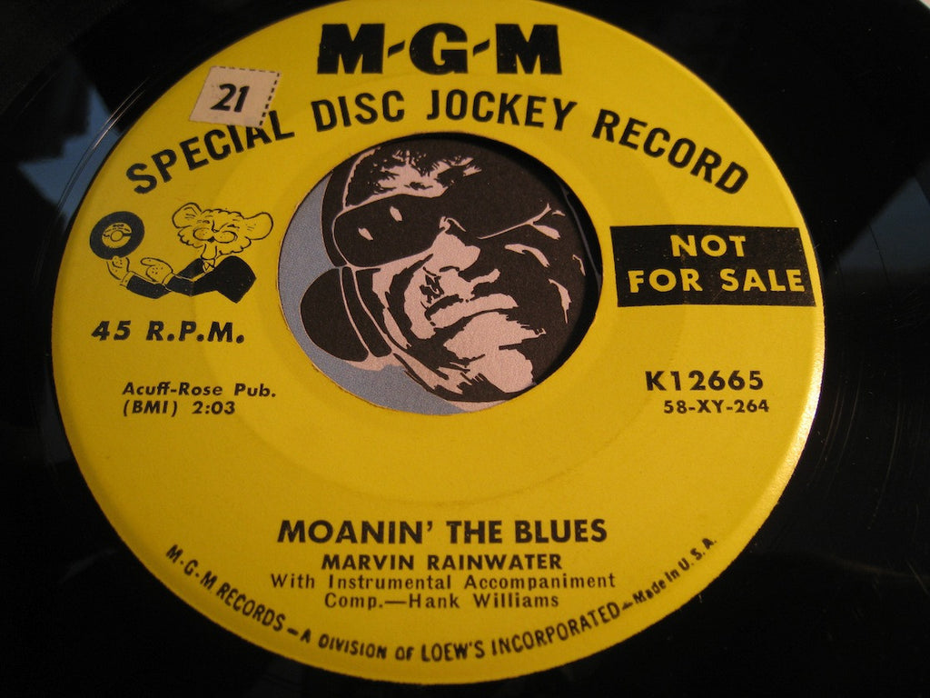 Marvin Rainwater - I Dig You Baby b/w Moanin The Blues - MGM #12665 - Rockabilly