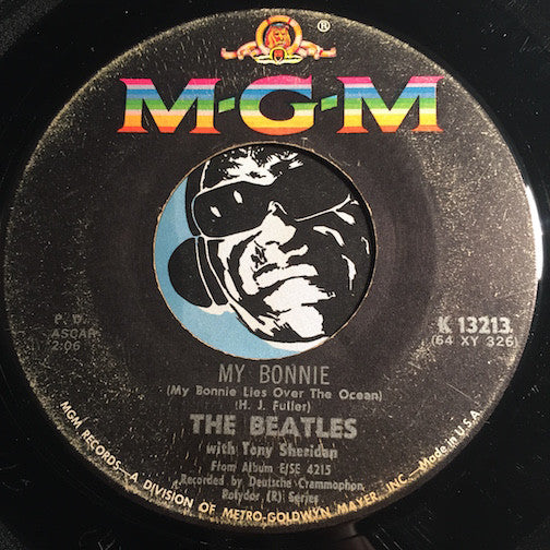 Beatles w/ Tony Sheridan - My Bonnie b/w The Saints (When the Saints Go Marching In) - MGM #13213 - Rock n Roll