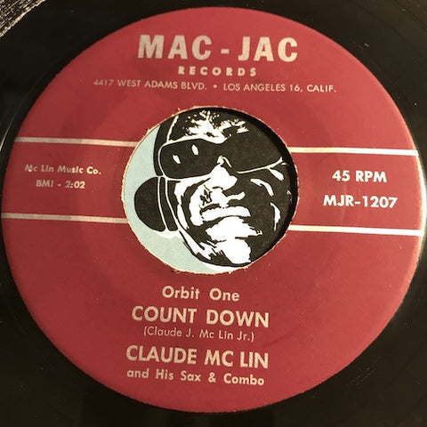 Claude McLin - Orbit One Count Down b/w Orbit Two Count Down – Mac Jac #1207 - Jazz Mod