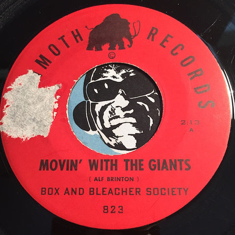 Box and Bleacher Society - Movin With The Giants b/w Willie's Waheeda (Guajira) - Mammoth #823 - Latin - Jazz Mod