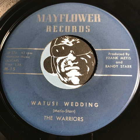 Warriors - Watusi Wedding b/w Lackawanna - Mayflower #15 - Rock n Roll