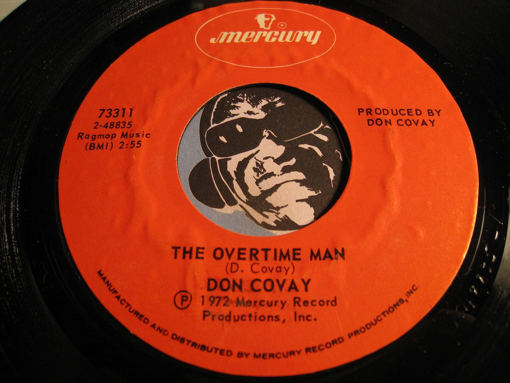 Don Covay - The Overtime Man b/w Dungeon Number 3 - Mercury #73311 - Funk