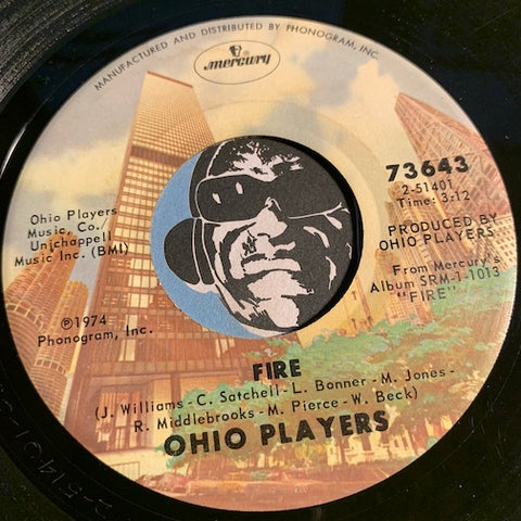 Ohio Players - Fire b/w Together - Mercury #73643 - Funk