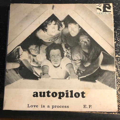 Autopilot - EP - Love Is A Process - When The Silence Falls b/w Yuman Torch - Bastards - Merimusic #JHEPS-2244 - Punk