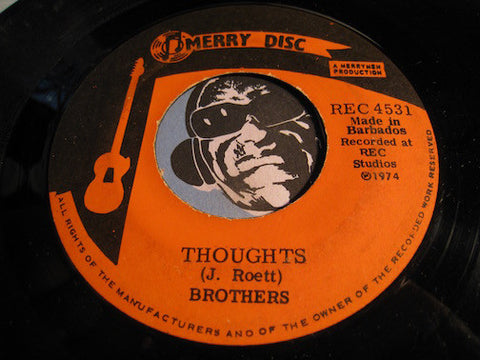 Brothers - Thoughts b/w Sadi Love - Merry Disc #4531 - Reggae