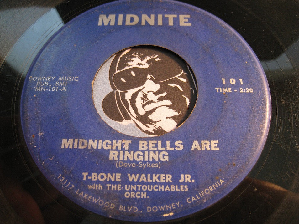T-Bone Walker Jr - Midnight Bells Are Ringing b/w Empty Feeling - Midnite #101 - Blues