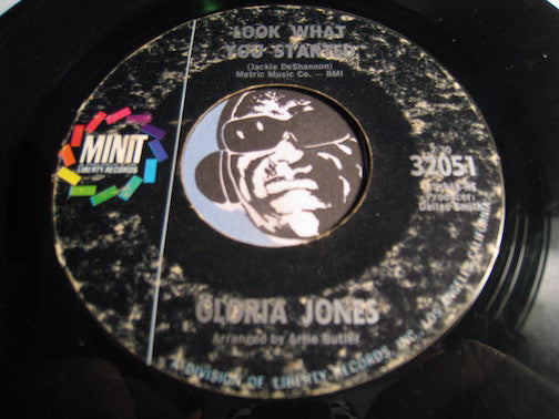 Gloria Jones - Look What You Started b/w When He Touches Me - Minit #32051 - Northern Soul