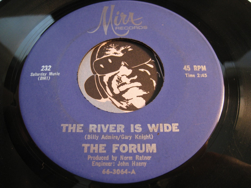 Forum - The River Is Wide b/w I Fall In Love (All Over Again) - Mira #232 - Popcorn Soul