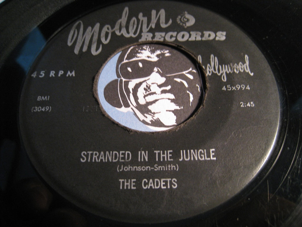 Cadets - Stranded In The Jungle b/w I Want You - Modern #994 - Doowop